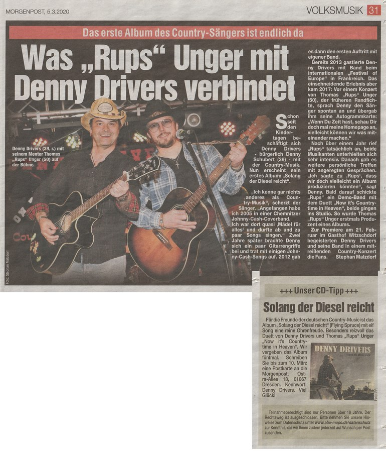 2020 03 05 Bericht Denny Drivers
